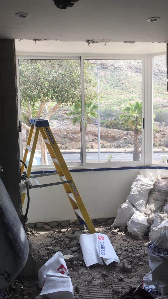Full Apartment Refurbishment-Giles Mullen-Los Cristianos-During (15)