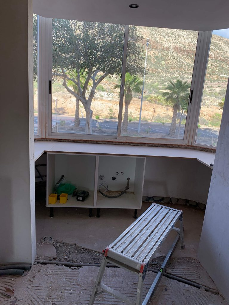 Full Apartment Refurbishment-Giles Mullen-Los Cristianos-During (28)