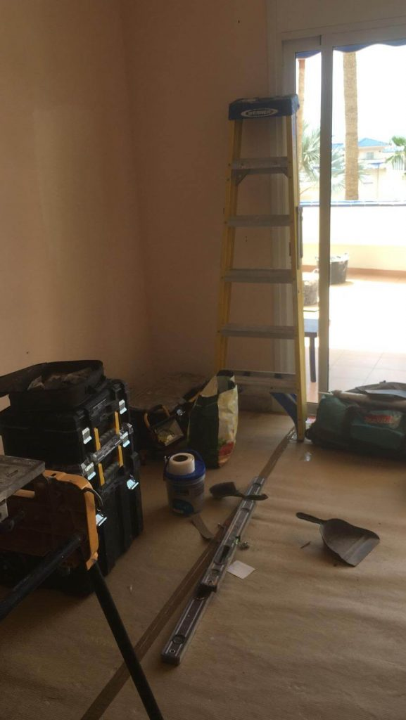 Full Apartment Refurbishment-Giles Mullen-Los Cristianos-During (3)