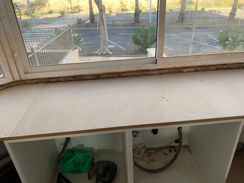Full Apartment Refurbishment-Giles Mullen-Los Cristianos-During (30)