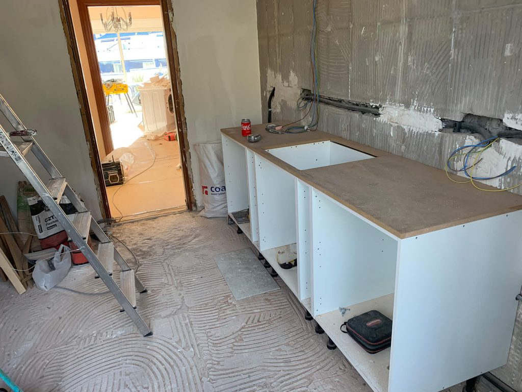 Full Apartment Refurbishment-Giles Mullen-Los Cristianos-During (32)