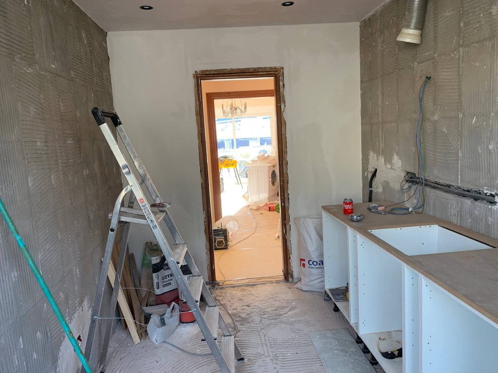 Full Apartment Refurbishment-Giles Mullen-Los Cristianos-During (33)