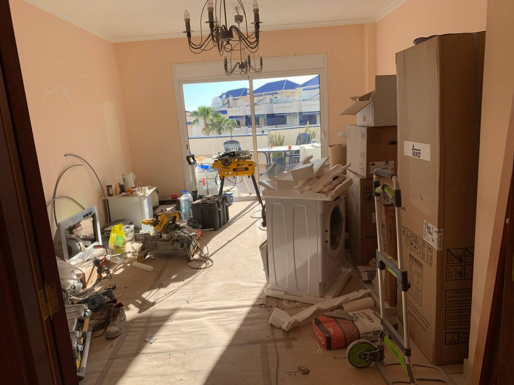 Full Apartment Refurbishment-Giles Mullen-Los Cristianos-During (35)