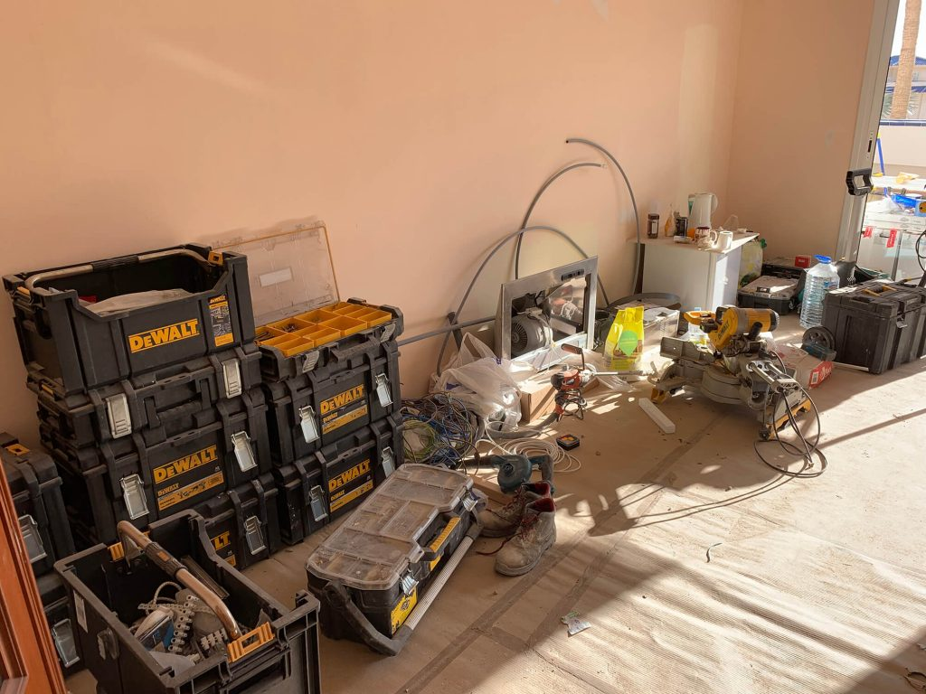Full Apartment Refurbishment-Giles Mullen-Los Cristianos-During (36)