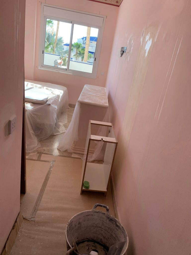 Full Apartment Refurbishment-Giles Mullen-Los Cristianos-During (57)