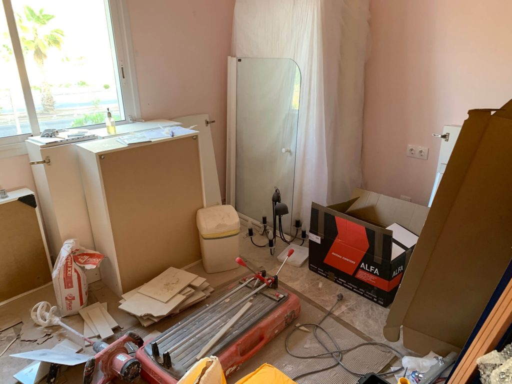 Full Apartment Refurbishment-Giles Mullen-Los Cristianos-During (66)
