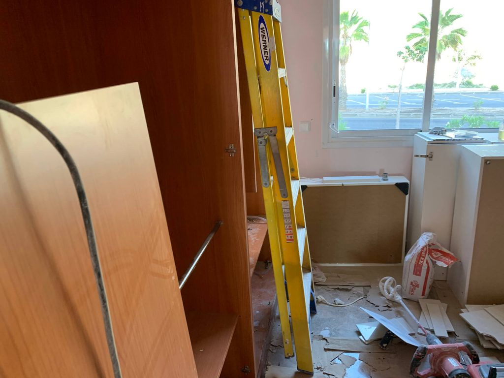 Full Apartment Refurbishment-Giles Mullen-Los Cristianos-During (67)