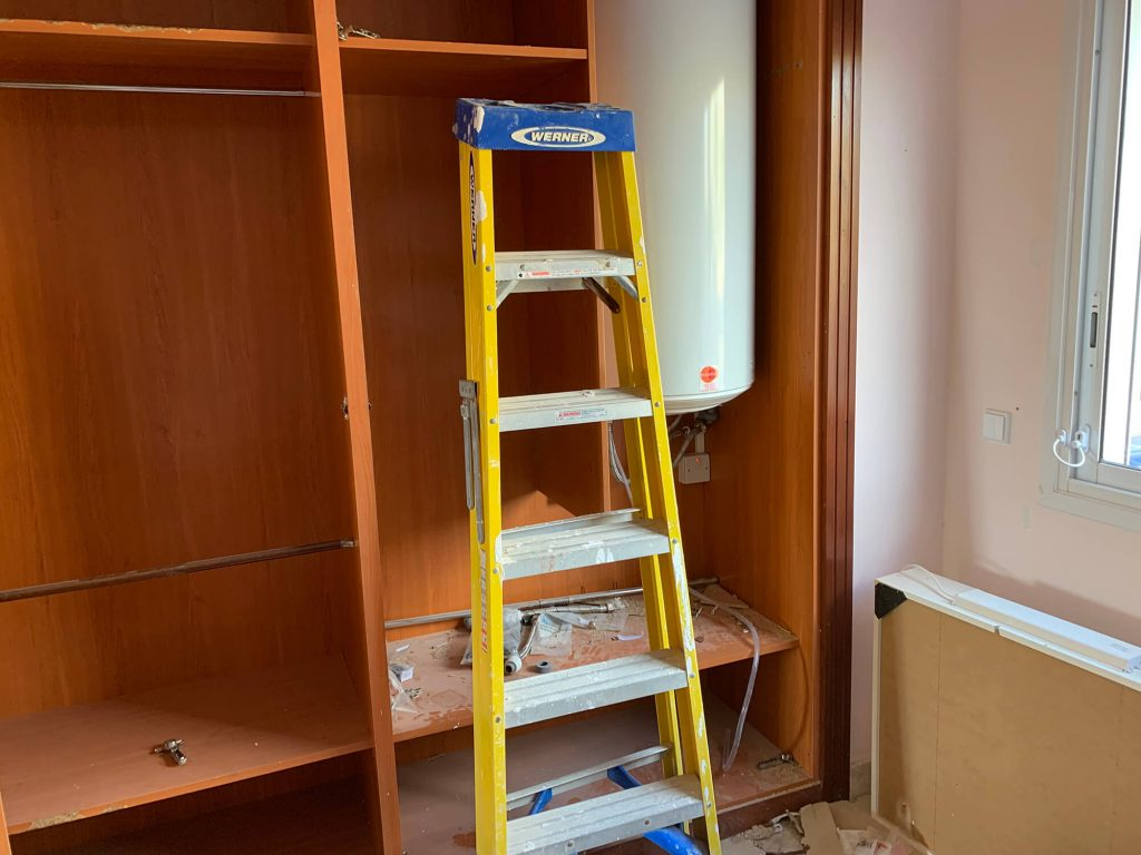 Full Apartment Refurbishment-Giles Mullen-Los Cristianos-During (70)
