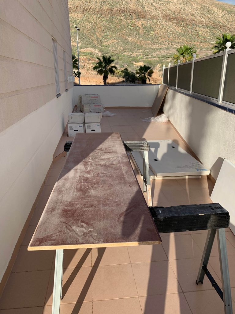 Full Apartment Refurbishment-Giles Mullen-Los Cristianos-During (72)