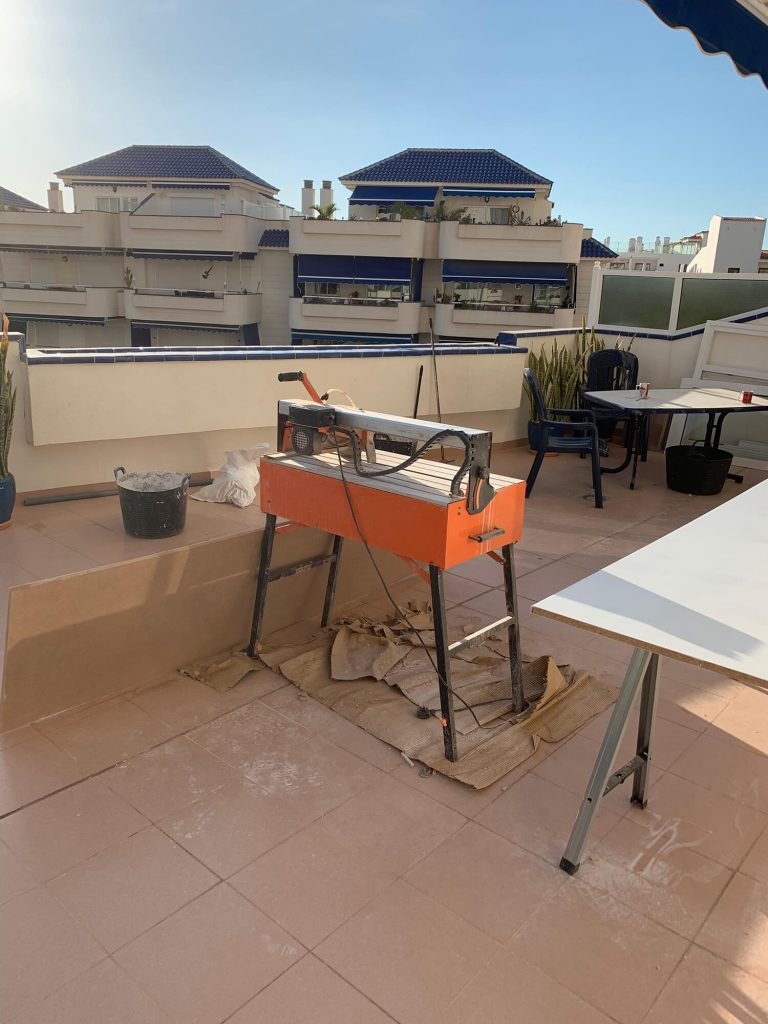 Full Apartment Refurbishment-Giles Mullen-Los Cristianos-During (75)